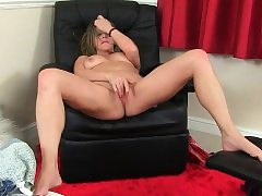 British milfs Molly and Silky need to caress one out