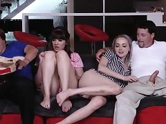 ally's daughter foot and sugar parent creampie Spunking all ov