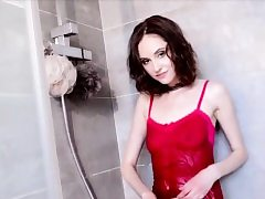 Girl Play With Herself in Shower
