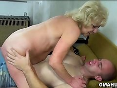 Blond Granny Boinked