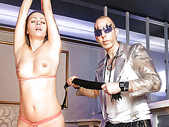 LETSDOEIT - Whipping and Bondage Slapping for German MILF