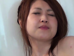 Japanese nubile solo pawing