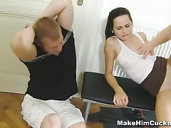 Splattered and made a hotwife