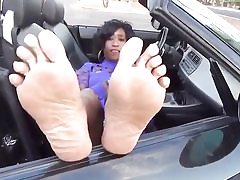 Black mature stunner in the camper is ready to get fucked rock-hard