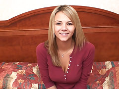 This is Ashlynn Brooke in her very first porno flick